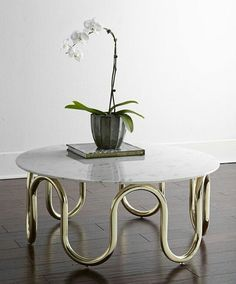 Marble and golden table