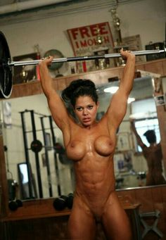Are Girls naked weight lifting