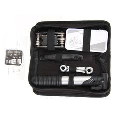 26 Pcs Bicycle Repair Multi Tools Kit Set #bicyclerepair #bicyclerepairtools