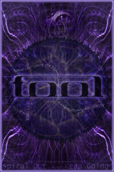 This is a Tool poster i made. I tried to incorporate loads of things reflected in their music; the famous rolling eye, the DMT spirits from the 10,000days cover, the lyrics from the Aenima which i ...