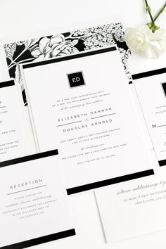 Invitation Format For An Event Traditional Wedding Invitation Sample  Kate  Black And White .