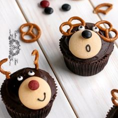 #DIY Bear #Cupcakes