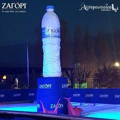 Bottle of water handmade by Arrworx AP
