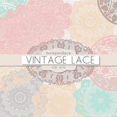 Graphic Design - Graphic Design Ideas  - Pastel doilies lace clipart by burlapandlace on Creative Market   Graphic Design Ideas :     – Picture :     – Description  Pastel doilies lace clipart by burlapandlace on Creative Market  -Read More –