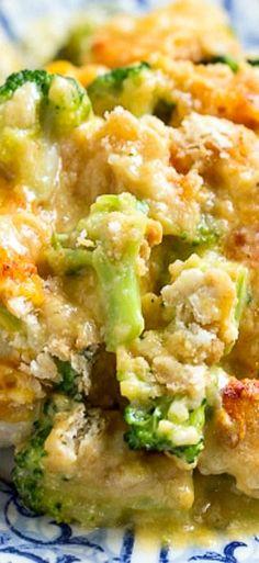 Broccoli Cheddar Chicken (Cracker Barrel copycat) - how to video