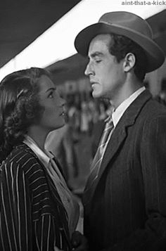 Doris Dowling & Vittorio Gassman ~ Bitter Rice | Riso Amaro 1949-