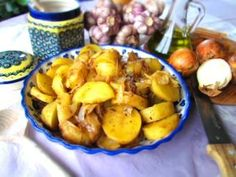 Maltese style potatoes with fennel seeds
