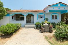 The South Escape Cottage,beach front pool - Houses for Rent in Plimmiri, Greece Pool Houses, Private Pool, Greek Islands, Renting A House, Greece, Villa, Cottage, Mansions, House Styles