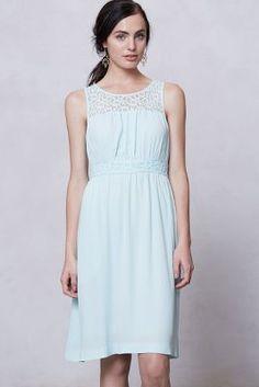 Lace-Yoke Dress