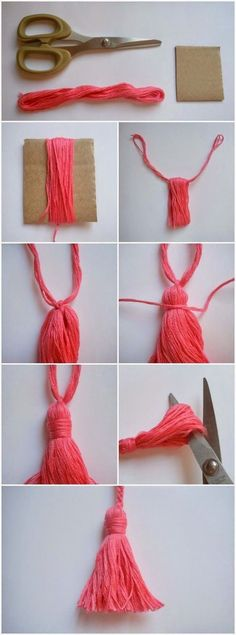 Con le mie mani by Anna Bruno: Tutorial scialle crochet: Yarn Crafts, Diy And Crafts, Arts And Crafts, Decor Crafts, Sewing Projects, Craft Projects, Crochet Projects, Craft Ideas, How To Make Tassels