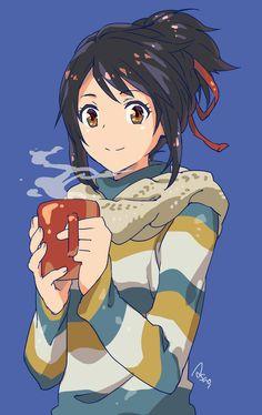 三葉に着てもらいたいセーターの柄