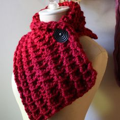 Knitting pattern by Phydeaux Designs, perfect for Christmas gift knitting (super quick knit!)!