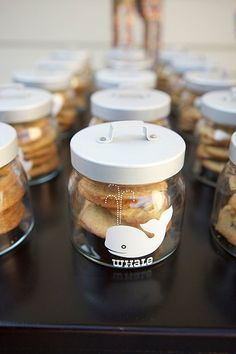 Ikea jars party favors