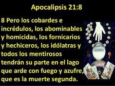 Resultado de imagen para APOCALIPSIS 21:8