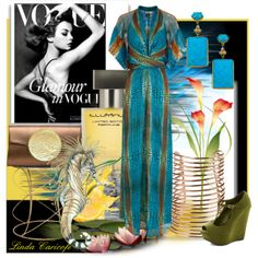 """While the snow turns the world into a winter wonderland, I am dreaming of the colors of the sea"" by linda caricofe on Polyvore"