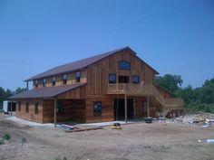 Metal+Pole+Barn+Houses | ... pole barns - metal roofing - wood homes - barn builder - nationwide
