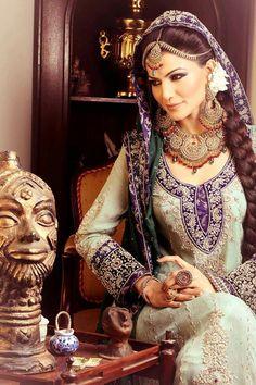 Traditional pakistani bride