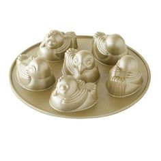 Nordic Ware Easter Chick Cakelet Pan #williamssonoma