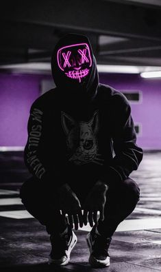 LED Party Mask - Wallpapers for Phones 4k Wallpaper For Mobile, Phone Screen Wallpaper, Neon Wallpaper, Iphone Wallpaper, Wallpaper Gallery, Hacker Wallpaper, Supreme Wallpaper, Gas Mask Art, Masks Art