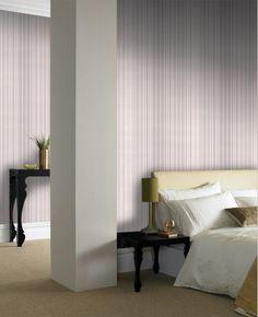 30-780 Superfresco Easy Metro Beige Stripe Wallpaper | Graham & Brown