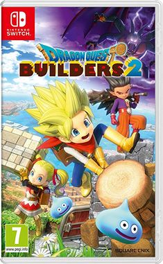 Dragon Quest Builders 2 Nintendo Switch Open World Building Role Playing Game Nintendo Mario Kart, Nintendo Switch System, Nintendo Switch Games, Super Nintendo, Dragon Quest, Fire Emblem, Instant Gaming, Playstation, Pikachu