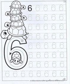 New System-Suitable Numbers Line Study - Preschool Children Akctivitiys Preschool Writing, Numbers Preschool, Preschool Learning Activities, Free Preschool, Preschool Lessons, Kindergarten Math, Kids Learning, Kids Math Worksheets, Math For Kids
