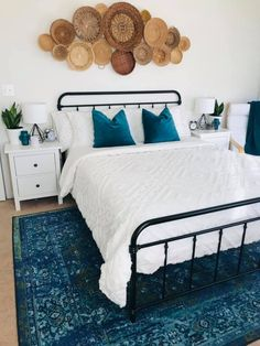 Rugs USA - Area Rugs in many styles including Contemporary, Braided, Outdoor and Flokati Shag rugs.Buy Rugs At America's Home Decorating SuperstoreArea Rugs Home Bedroom, Bedroom Decor, Bedroom Ideas, Bedrooms, Baskets On Wall, New Room, House Rooms, Home Decor Inspiration, Decor Ideas