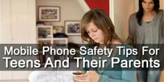 Mobile Phone Safety Tips For Teens And Their Parents:  Is Your #Child Have A #Phone? Is He Using It In The #Right #Way? Are You Confirmed? How To Make It #Secure? A Brief #Study About #Mobile Phone #Safety #Tips For #Teens And Their #Parents. Read It And Follow It.  #Article: www.exeideas.com/2014/01/mobile-phone-safety-tips-for-teens.html
