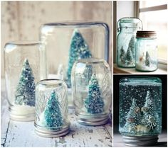 BLISS - wee wednesday with lindsay | DIY Snowglobes