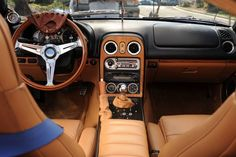 Would you believe this is the interior of Mazda Miata?