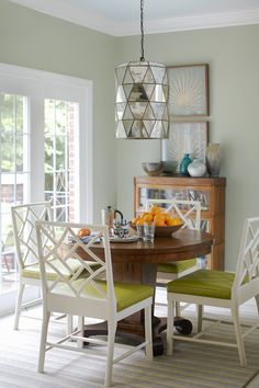 Breakfast Room by Kara Cox Interiors Photographed by Stacey Van Berkel