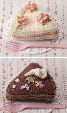 Oh my gosh! These are the cutest things ever! Perfect for a crocheted tea set. free pattern