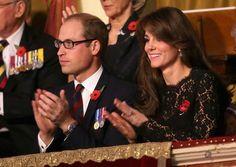 Kate en William tijdens de herdenking
