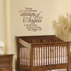 Nursery Wall Decal  Script Vinyl Wall Quote For by FleurishWalls, $26.95