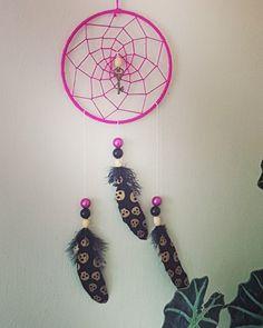Pink punk All Craft, Crafts To Make, Dream Catcher, Punk, Dreams, Sunset, Home Decor, Homemade Home Decor, Dreamcatchers