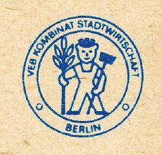 """DDR Museum - Museum: Objektdatenbank - Notizblock """"VEB Kombinat Stadtwirtschaft Berlin""""    Copyright: DDR Museum, Berlin. Eine kommerzielle Nutzung des Bildes ist nicht erlaubt, but feel free to repin it!"""