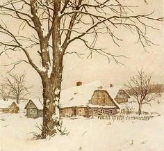 T.F.Simon. Czech Painter