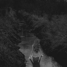 Wading..