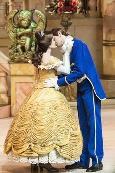 Belle and the Prince in Beauty and the Beast: Live on Stage at Disney's Hollywood Studios / Walt Disney World Resort - Florida.