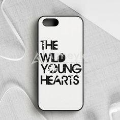 The Wild Young Heart White iPhone 5|5S|SE Case | armeyla.com