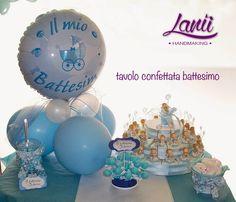 Allestimento battesimo bimbo by Lanù handmaking
