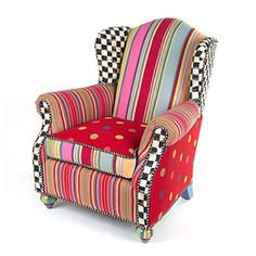 Kids chair from Mackenzie-Childs