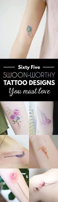 65 Swoon-Worthy Tattoo Designs Every Girl Will Fall In Love With