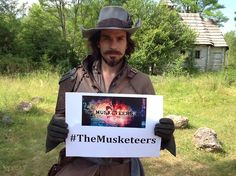 The Musketeers - Tweet along with the official Musketeers Twitter using the hashtag #TheMusketeers — because Santiago Cabrera says so!