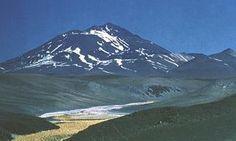 Volcano Llullaillaco, Chile/Argentina border