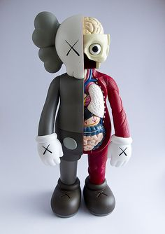 Kaws Dissected Companion Brown