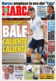 Los Titulares y Portadas de Noticias Destacadas Españolas del 23 de Julio de 2013 del Diario Marca ¿Que le pareció esta Portada de este Diario Español?