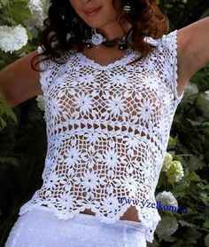 Irish crochet &: Blouse. Блуза.