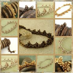 Spiky Byzantine - Bracelet Kit -   Your PICK One or Two Colors - The Beauty of Chainmaille. $ 30.00, via Etsy.