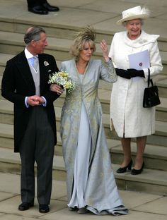 Prince Charles and Camilla Parker Bowles The Bride: Camilla Parker ...